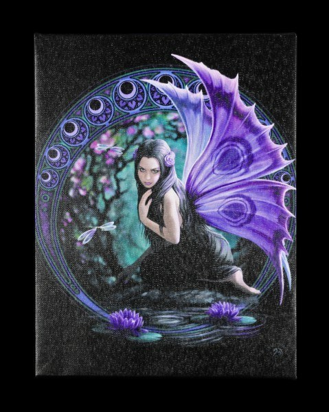 Small Canvas - Naiad by Anne Stokes