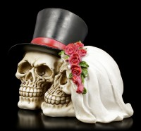 Totenkopf - Hochzeitspaar groß