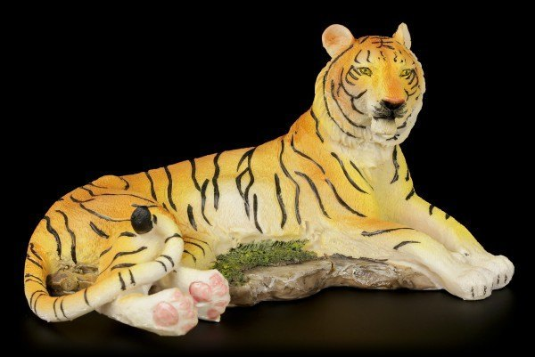 Tiger Figurine - On the Floor