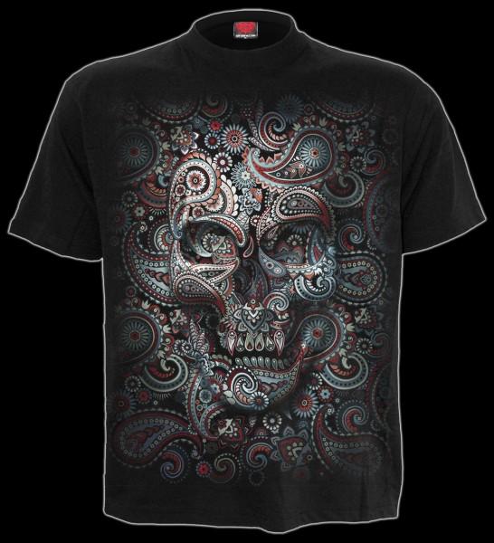 Skull Illusion - Spiral Fantasy T-Shirt