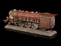 Rote Lokomotive - Deko Figur