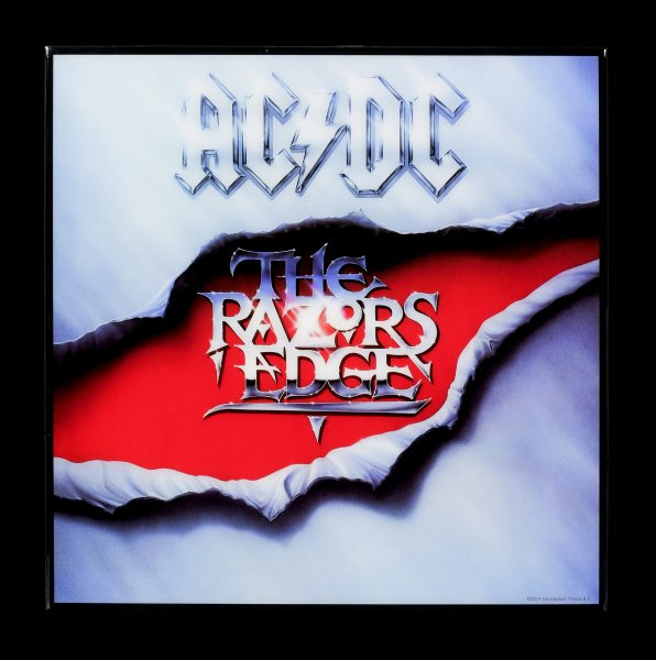 AC/DC Hochglanz Bild - The Razors Edge