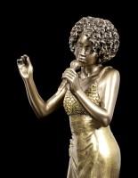 Jazz Sängerin Figur
