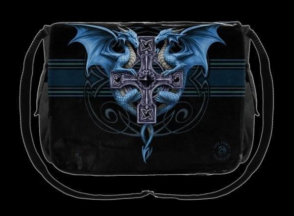 Messenger Bag - Dragon Duo