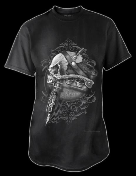 Alchemy Totenkopf T-Shirt - Scar Bones