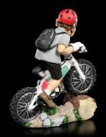 Funny Sports Figur - Mountainbiker hochkonzentriert