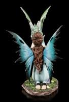 Elfen Figur - Arwen mit Drachenbaby
