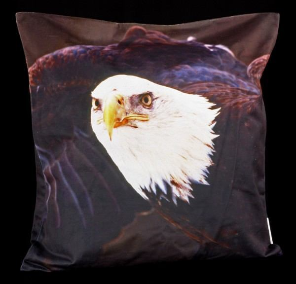 Cushion Cover - Bald Eagle Take Off