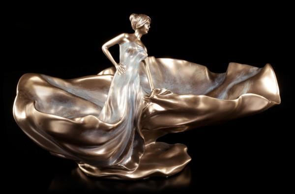 Jugendstil Schale - Tanzende Frau