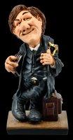 Funny Job Figur - Rechtsanwalt mit Büchern