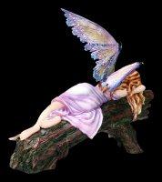 Elfen Figur - Drema schlafend auf Baum