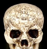Totenkopf - Azteken Schädel