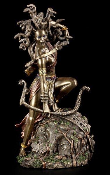 Greek Goddess - Medusa Figurine