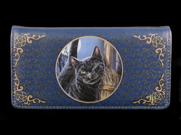 Geldbörse mit Katze - A Brush with Magic - geprägt