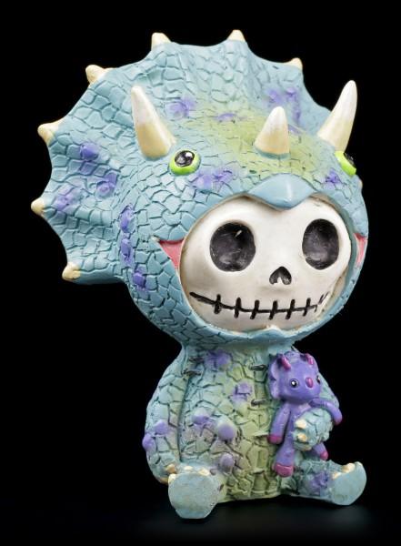 Furry Bones Figur - Triceratops