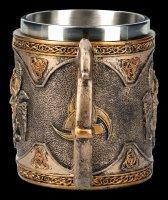 Odin Tankard - Nordic God