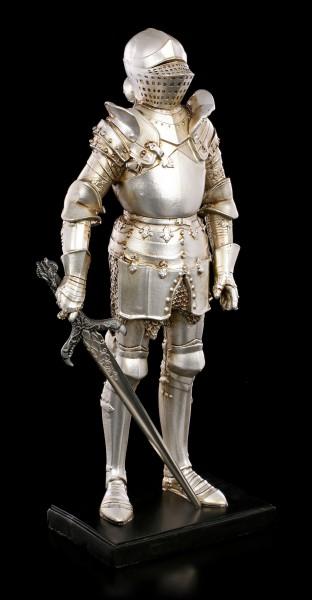 Ritter Figur - Schwert rechts auf Podest