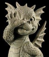 Garden Figurine - Dragon Cheeky Monkey