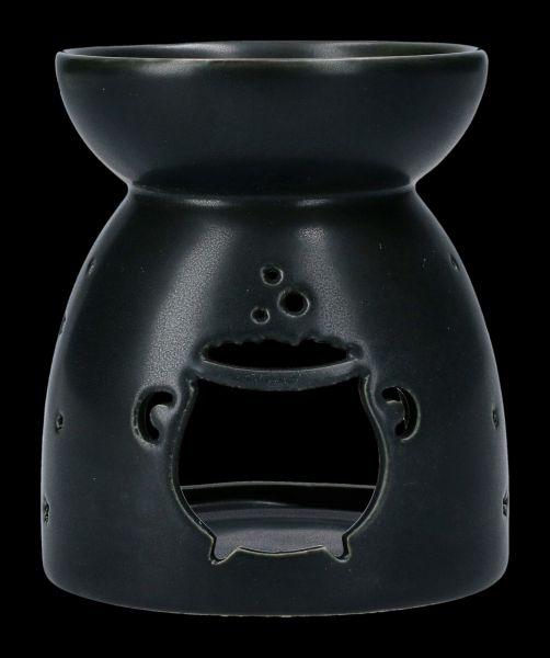 Duftlampe schwarz - Hexenkessel