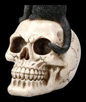 Cat and Skull Figurine - Familiar Fate