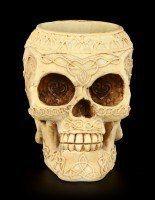 Pen Keeper - Studded Skull