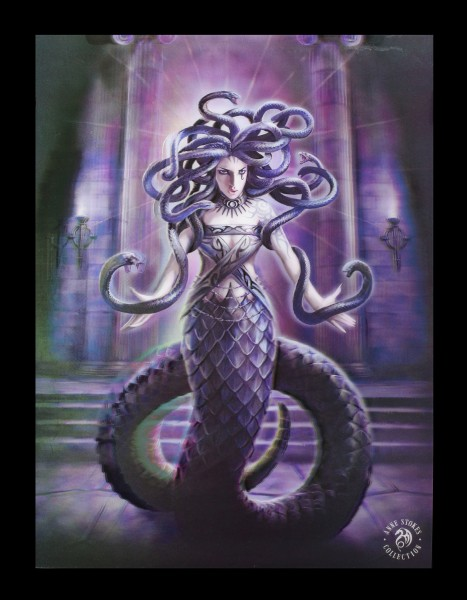 3D Picture with Medusa - Serpents Spell