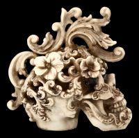 Totenkopf Figur - Rococo