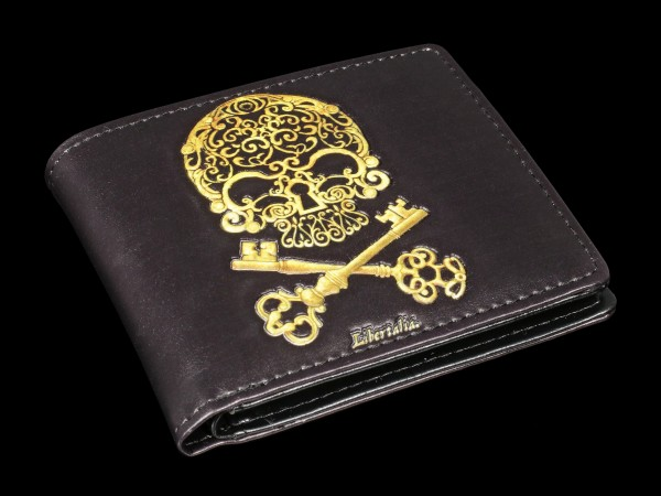 Men's Wallet with Skull - Libertalia