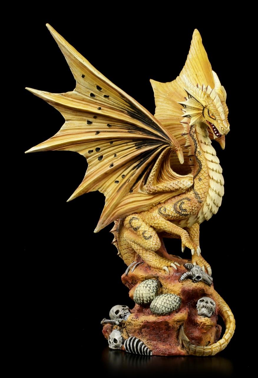 Drachen Figur - Adult Desert Dragon