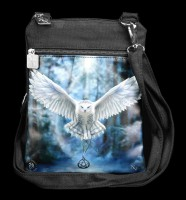 Kleine Schultertasche mit Eule - Awaken your Magic