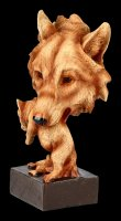 Wolf Bust - Natural Protection