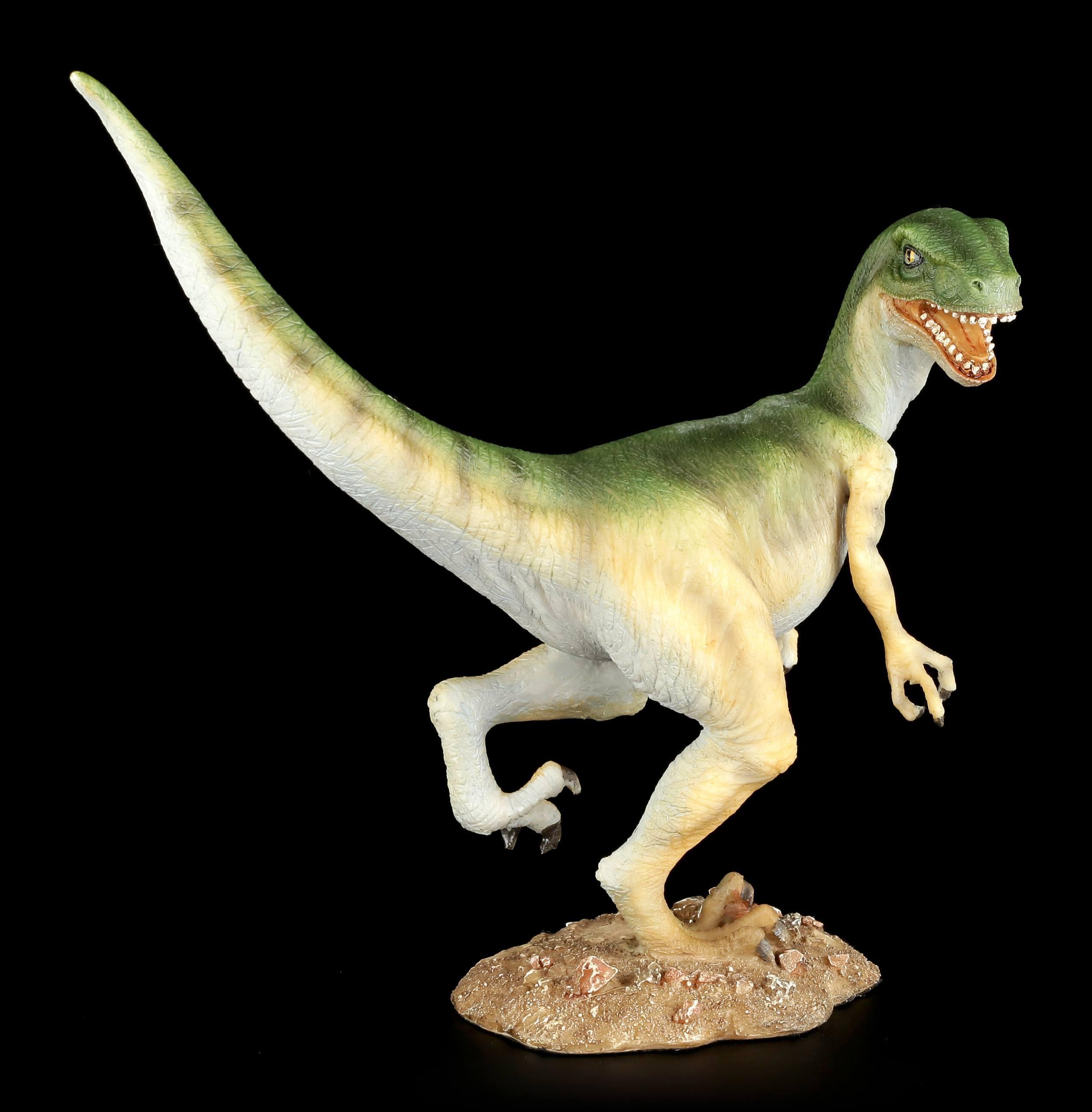 Dinosaurier Figur Velociraptor Bunt