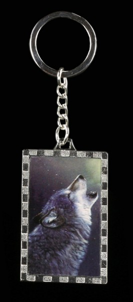 3D Schlüsselanhänger - Ascending Song - mit Wolf