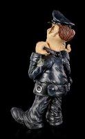 Funny Job Figurine - Policeman with Handcuffs