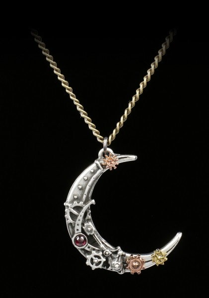 Alchemy Steampunk Necklace - Lunatron