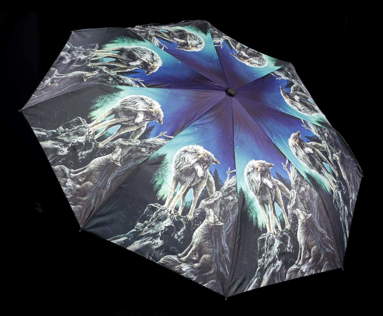 Regenschirm mit Wölfen - Guidance