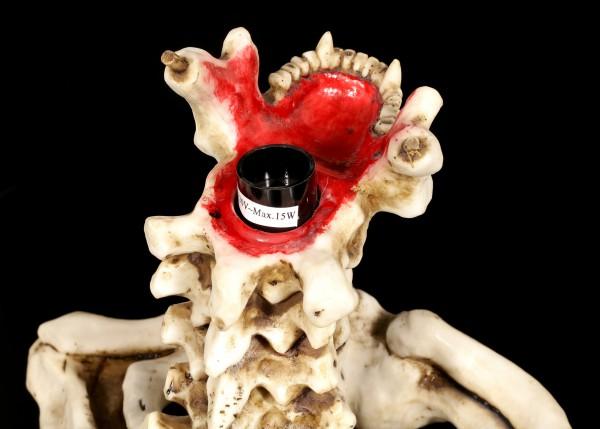Skelett Tischlampe - Hell of a Light