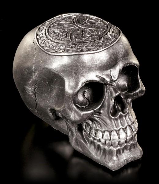 Skull - Celtic Cross black