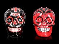 Skull Salt and Pepper Shaker - Day of the Dead