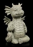 Small Garden Figurine - Lucky Dragon Bad Boy