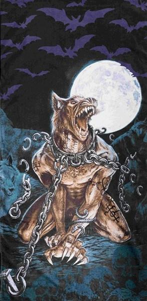 Alchemy Gothic Werwolf Badetuch - Loups Garou