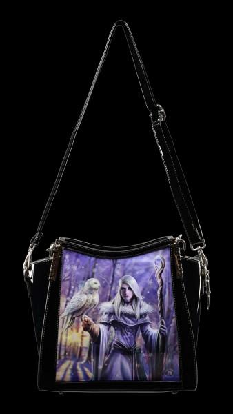 3D Fantasy Handbag - Winter Owl