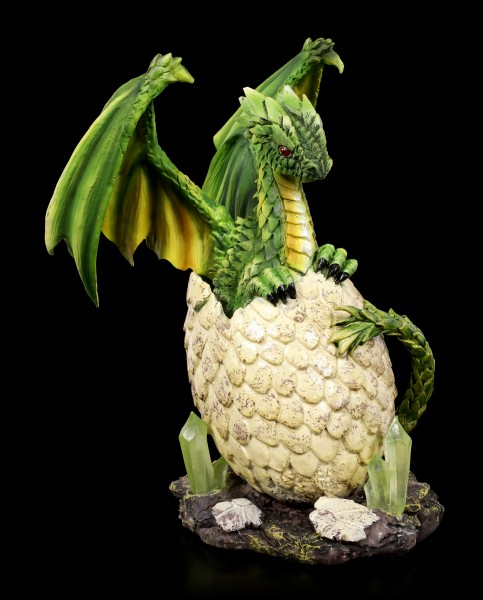 Forest Dragon Figurine - Nefarian hatches