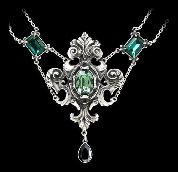 Queen of the Night - Alchemy Gothic Pendant