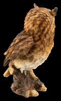 Long-Eared Owl Figurine - large