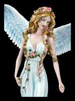 Angel Figurine - Acher with Wolf