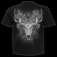 Spiral Horror T-Shirt - Horned Spirit