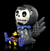 Furry Bones Figurine - Bird Leopold