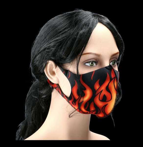 Face Mask - Tribal Flames