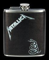 Metallica Flachmann - Black Album